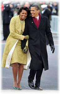 Барак Обама жена