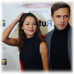 Елена Лядова с мужем