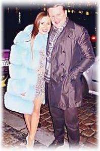 Юлия Михалкова с мужем