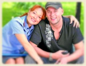Максим Аверин с девушкой