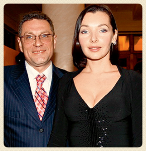 Наталья Антонова и ее муж