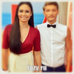 Лясан Утяшева и ее муж
