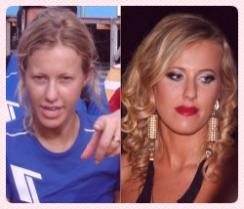 без макияжа Ксения Собчак
