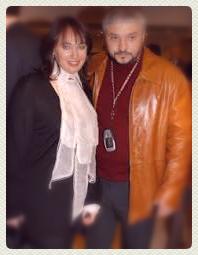Ларсиа Гузеева и ее муж