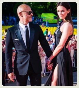 федор бондарчук с его новой женой