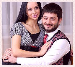 михаил галустян и его жена