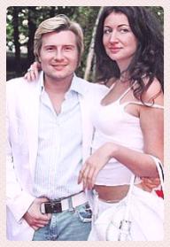 Николай басков и его жена