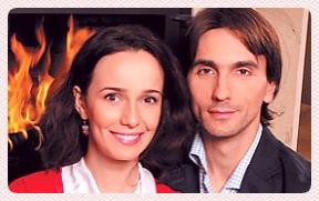 Валерия Ланская с Денисом Назаровым