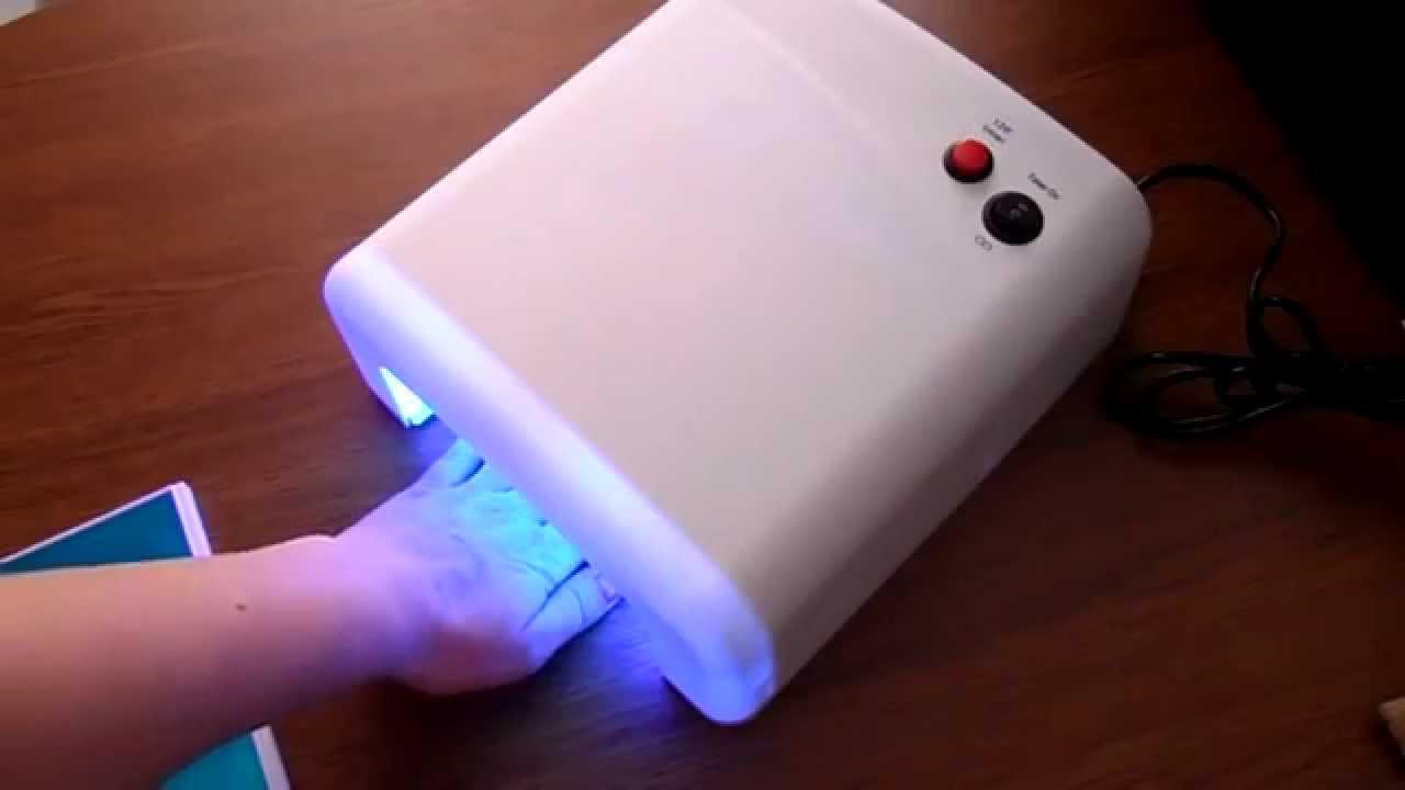 Красивый и долговечный маникюр с УФ-лампой